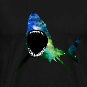 Galactic Great White - Men's Premium T-Shirt