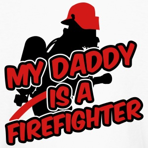 My daddy is a firefighter Kids' Shirts - Kids' Long Sleeve T-Shirt