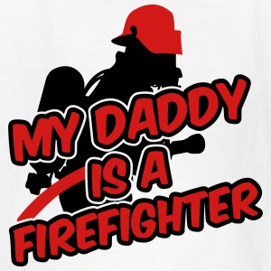 My daddy is a firefighter Kids' Shirts - Kids' T-Shirt