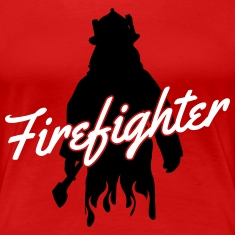 firefighter fireman Women's T-Shirts