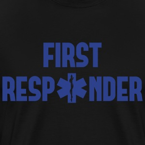 first responder T-Shirts - Men's Premium T-Shirt