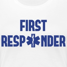 first responder Women's T-Shirts