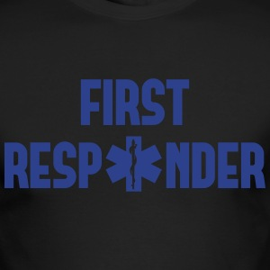 first responder Long Sleeve Shirts - Men's Long Sleeve T-Shirt by Next Level