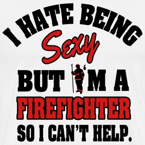 I'm a sexy firefighter T-Shirts - Men's Premium T-Shirt