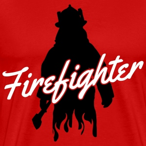 firefighter fireman T-Shirts - Men's Premium T-Shirt