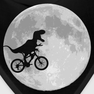 Dinosaur bike and moon parody - Bandana
