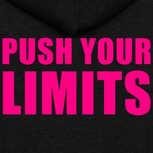 Push Your Limits - Unisex Fleece Zip Hoodie by American Apparel