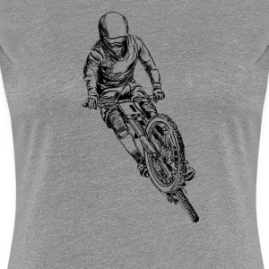 mountain bike cross T-shirts - T-shirt premium pour femmes