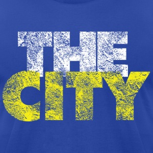 The City Vintage - Men's T-Shirt by American Apparel