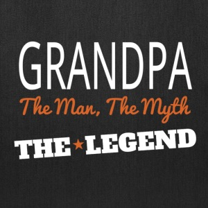 grandpa legend Bags & backpacks - Tote Bag