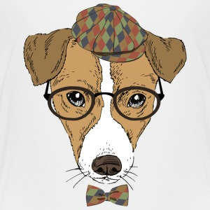 gentleman dog - Kids' Premium T-Shirt