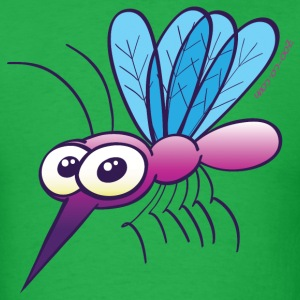Cute Purple Mosquito T-Shirts - Men's T-Shirt
