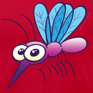 Cute Purple Mosquito T-Shirts - Men's T-Shirt by American Apparel
