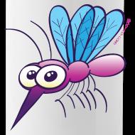 Design ~ Cute Purple Mosquito Mugs & Drinkware