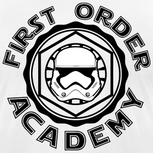 first order academy T-Shirts - Men's T-Shirt by American Apparel