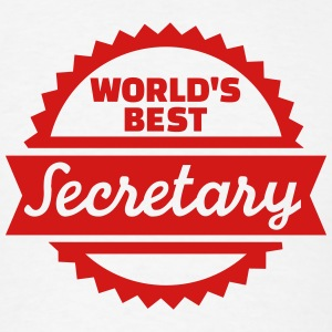 World's Best Secretary T-Shirts - Men's T-Shirt