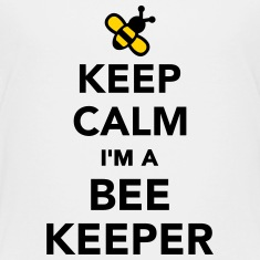 Keep calm I'm a Beekeeper Kids' Shirts