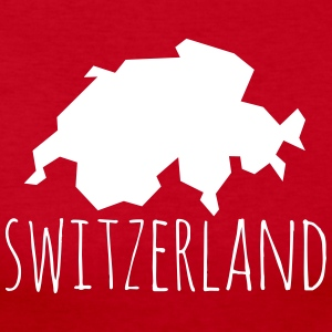 switzerland Long Sleeve Shirts - Women's Long Sleeve Jersey T-Shirt