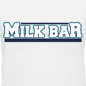 Milk bar breastfeeding humor - Women's V-Neck T-Shirt