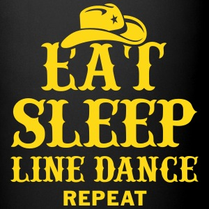 EAT, SLEEP, LINE DANCE, REPEAT Mugs & Drinkware - Full Color Mug