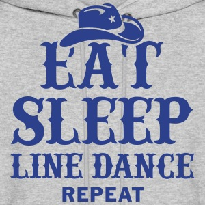 EAT, SLEEP, LINE DANCE, REPEAT Hoodies - Men's Hoodie