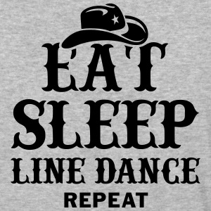 EAT, SLEEP, LINE DANCE, REPEAT T-Shirts - Baseball T-Shirt