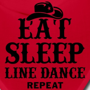 EAT, SLEEP, LINE DANCE, REPEAT Caps - Bandana