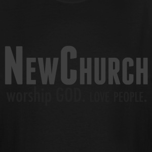NewChurch_logo2 T-Shirts - Men's Tall T-Shirt