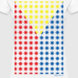 Philippines Filipino Sun Flag by AiReal Apparel Women's T-Shirts - Women's Premium T-Shirt