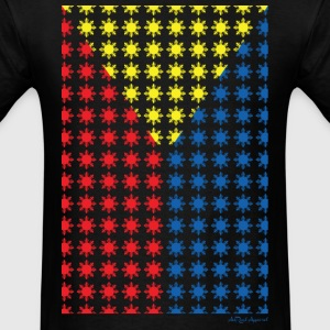 Philippines Filipino Sun Flag by AiReal Apparel T-Shirts - Men's T-Shirt