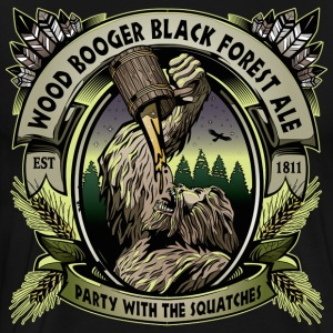 Wood Booger Black Forest Ale - Men's Premium T-Shirt