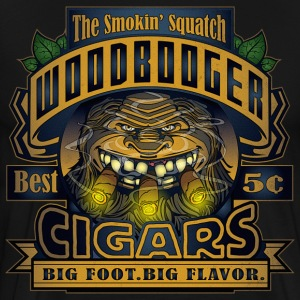 Wood Booger Cigars - Men's Premium T-Shirt