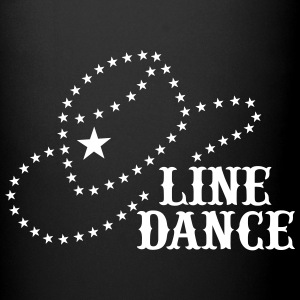 LINE DANCE STAR HAT Mugs & Drinkware - Full Color Mug