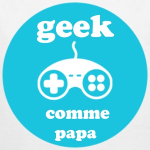 geek comme papa - Long Sleeve Baby Bodysuit
