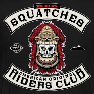 Red Squatches Riders Club - Men's Premium T-Shirt