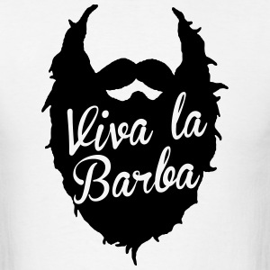 viva la barba T-Shirts - Men's T-Shirt