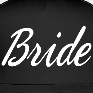 Cute Bride Script design Caps - Trucker Cap