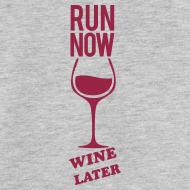 Design ~ run now wine later | Mens tank