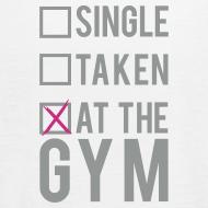 Design ~ Single, taken, at the gym | Womens flowy tank