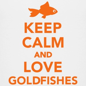 Keep calm and love goldfishes Kids' Shirts - Kids' Premium T-Shirt