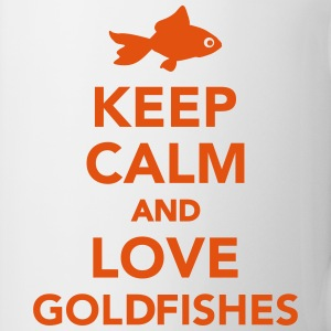 Keep calm and love goldfishes Mugs & Drinkware - Coffee/Tea Mug