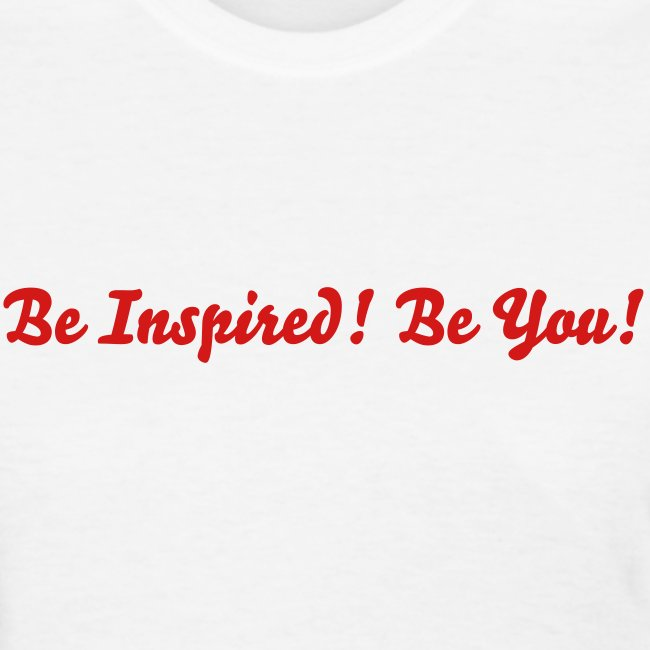 Be Inspired! (Red)