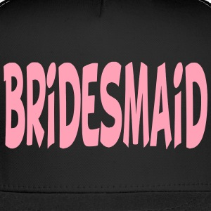 Bridesmaid Trucker Hat Cap Design - Trucker Cap