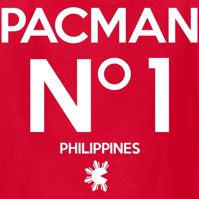 Manny Pacquiao Number 1 Kids Tee Shirt by AiReal Apparel