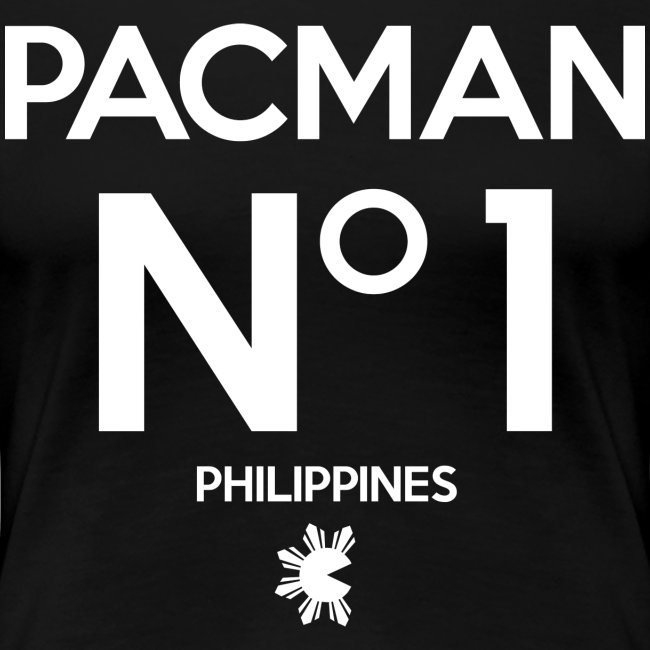 Manny Pacquiao Number 1 Womens Tee Shirt by AiReal Apparel