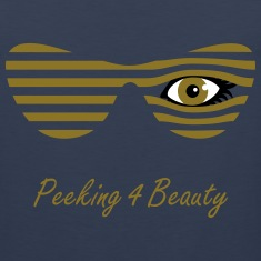 Blinded Peeking Tank Tops