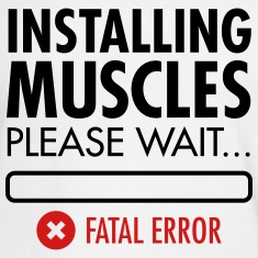 Installing Muscles (Fatal Error) Long Sleeve Shirts