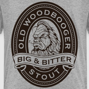 Old Woodbooger Big and Bitter Stout - Kids' Premium T-Shirt