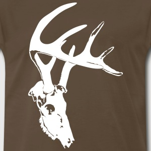 deer skull - Men's Premium T-Shirt