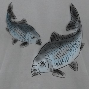 carp T-Shirts - Men's T-Shirt by American Apparel